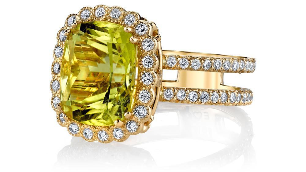 yellow gemstones - Emily-Ann-Ring-Canary-Tourmaline