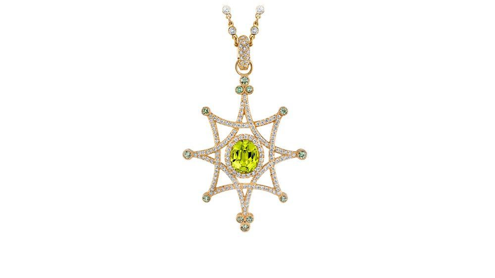 yellow gemstones - Jennifer-Pendant-in-chrysoberyl