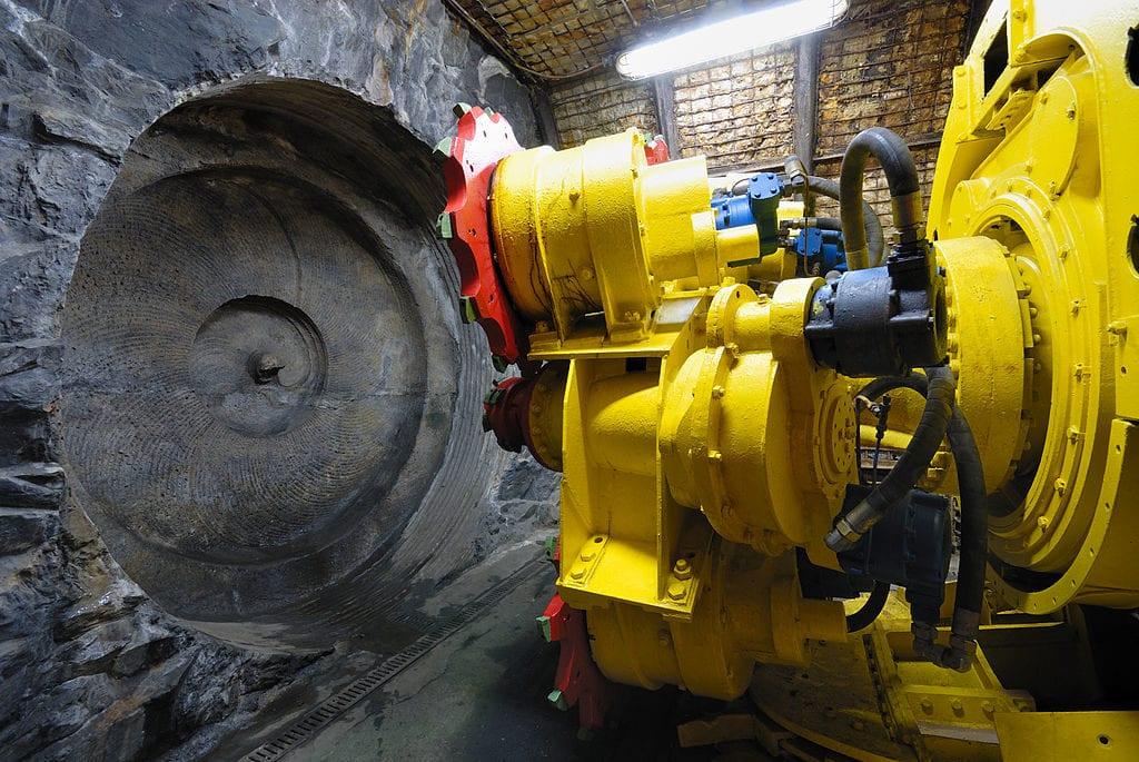 Coober Pedy - tunnel boring machine, Bochum Museum