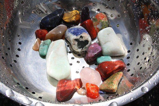 lapidary arts - tumbling rocks