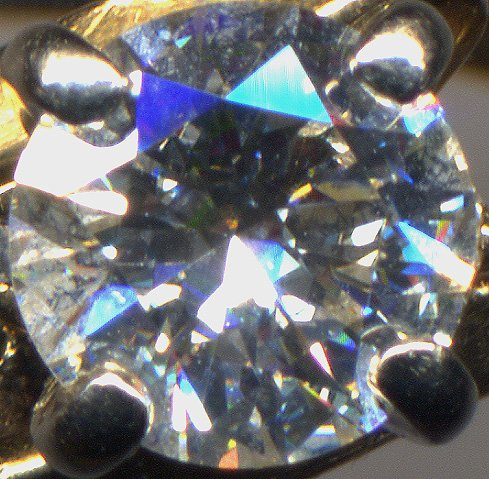 lapidary arts - faceted diamond