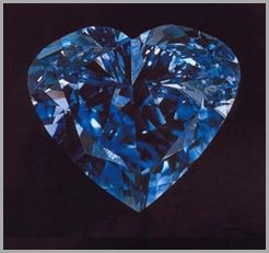 fancy gem cuts - the Heart of Eternity