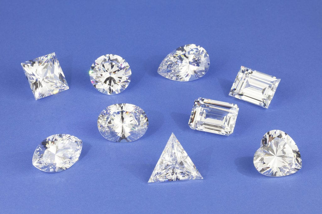 fancy gem cuts - diamonds