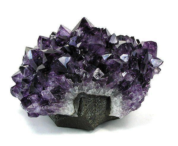 amethyst crystals - Uruguay