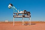 Coober Pedy - town sign