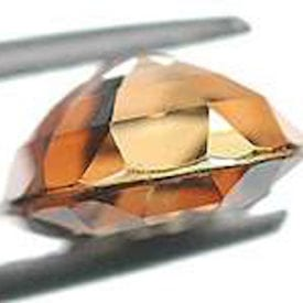 gemstone facets - breaks, andalusite