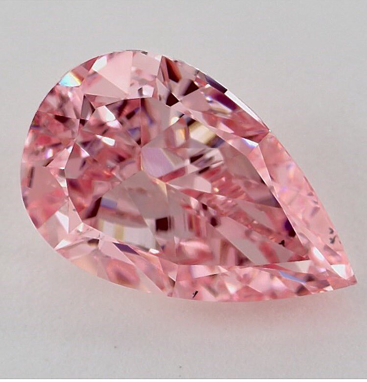 gemstone treatment survey results - HPHT pink diamond