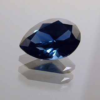 fancy gem cuts - pear-cut sapphire