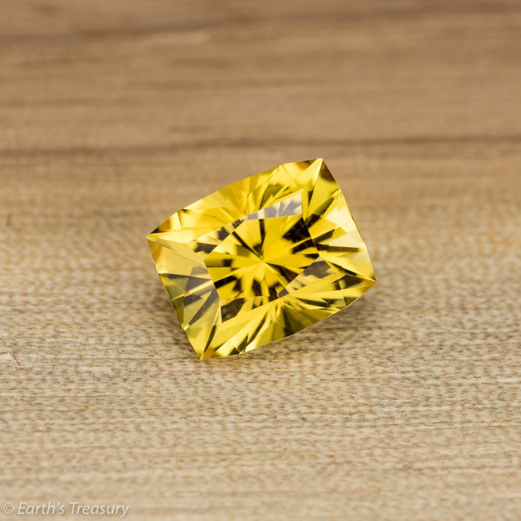 yellow gemstones - yellow danburite