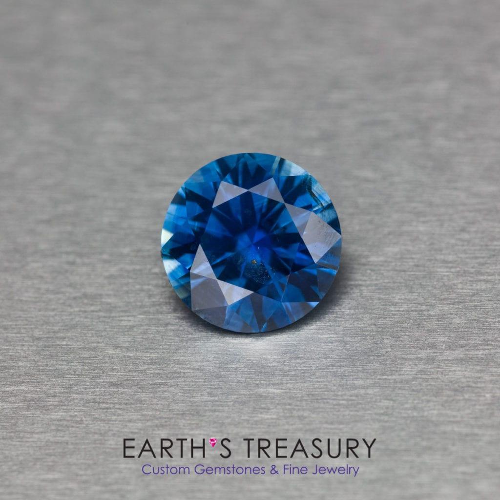 blue gemstones - 2.35ct Montana sapphire