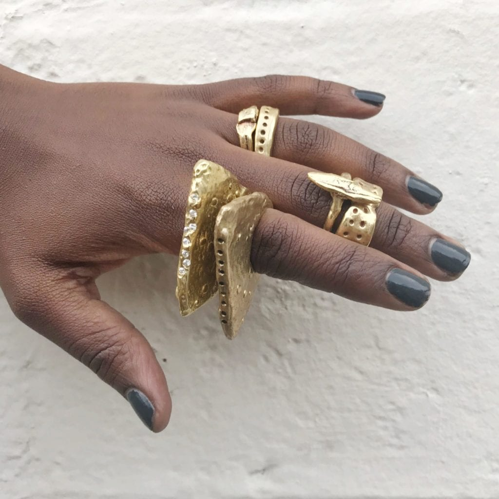 gem trends - chunky rings