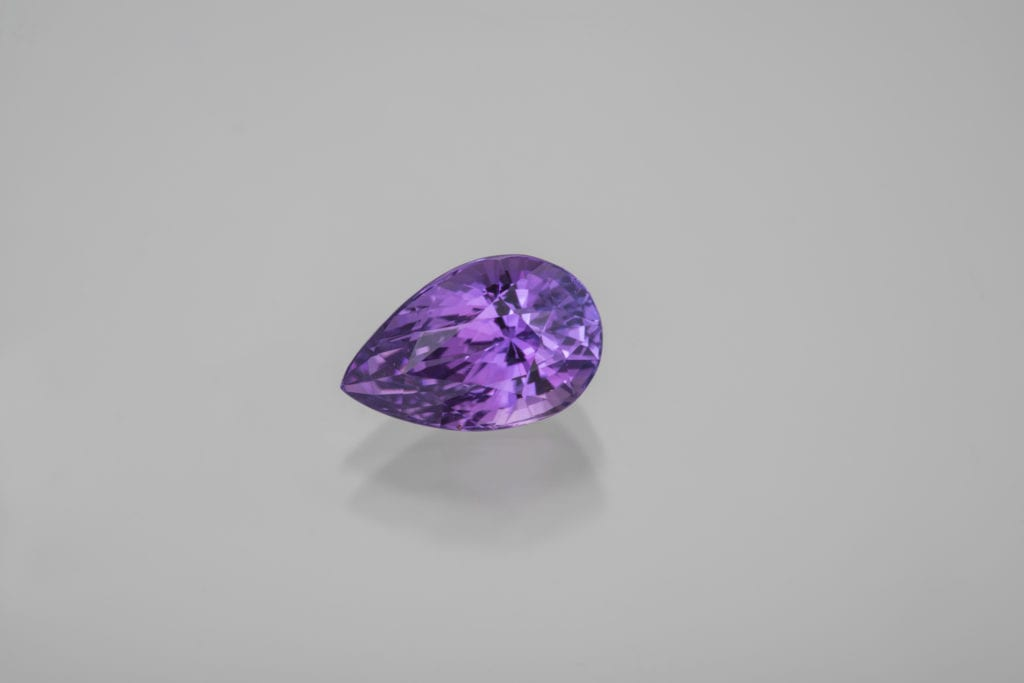 gem trends - purple sapphire