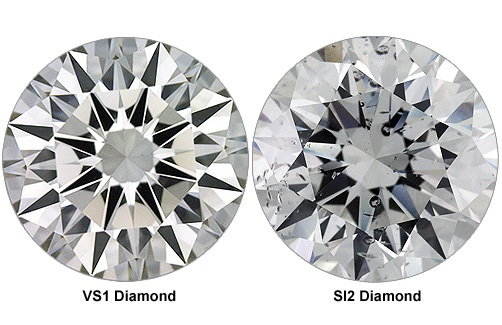 VS1 vs SI2 - diamond clarity
