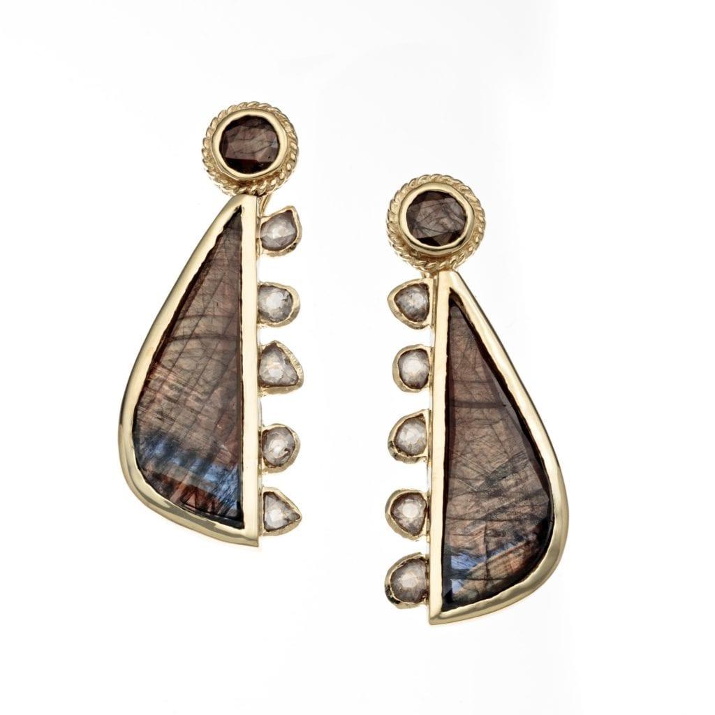 gem trends - gold sheen sapphire