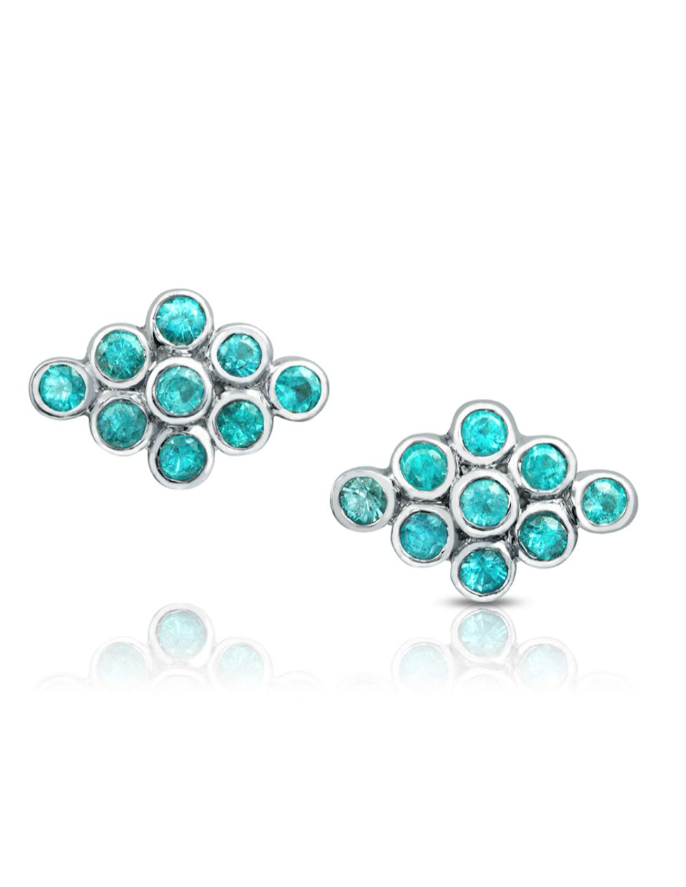 gem trends - reversible opal earrings, studs