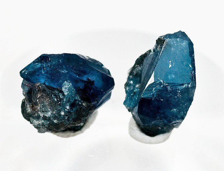 blue gemstones - scorodite