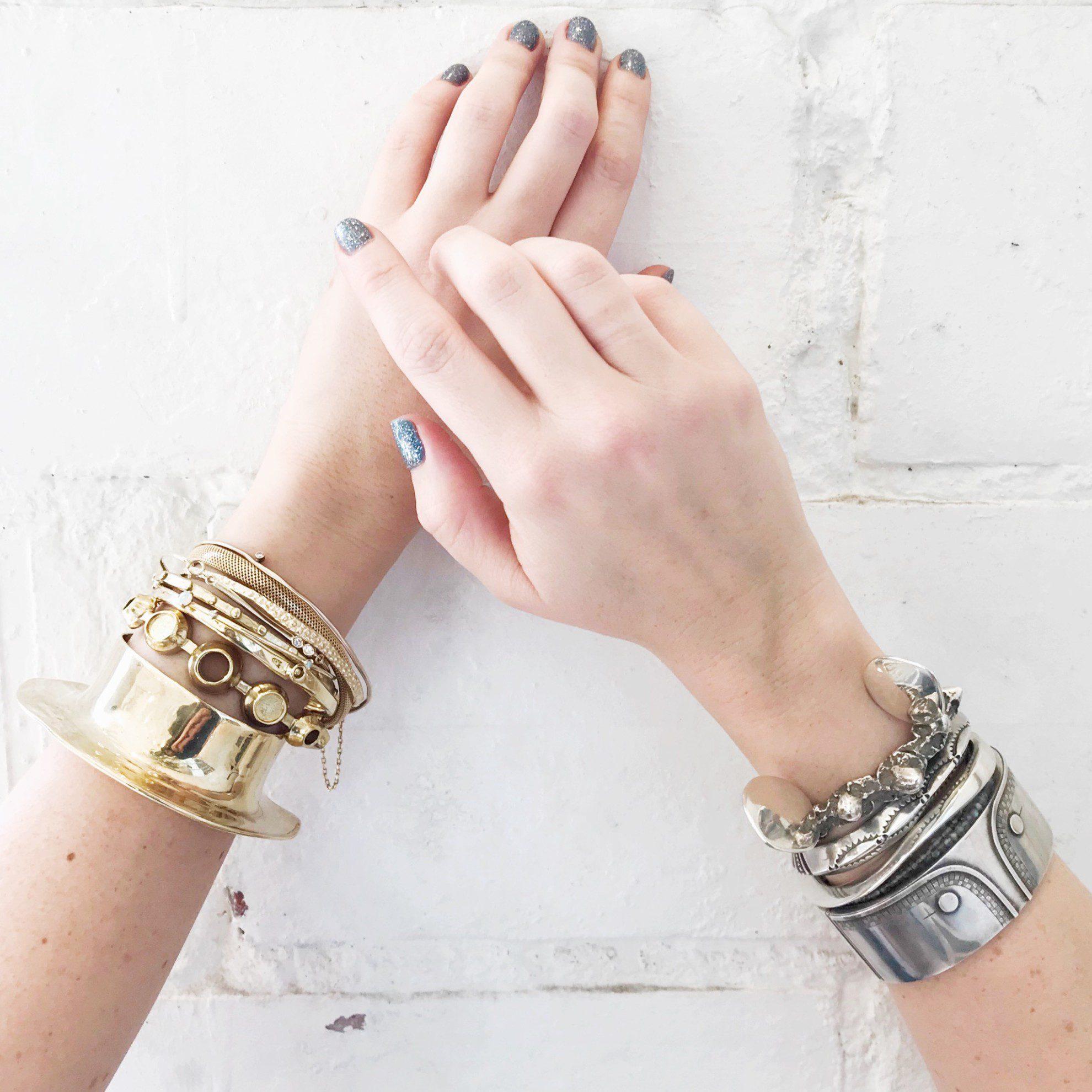 gem trends stacked bracelets Gem Trends