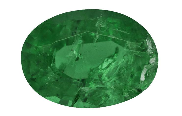 A- grade - emerald quality