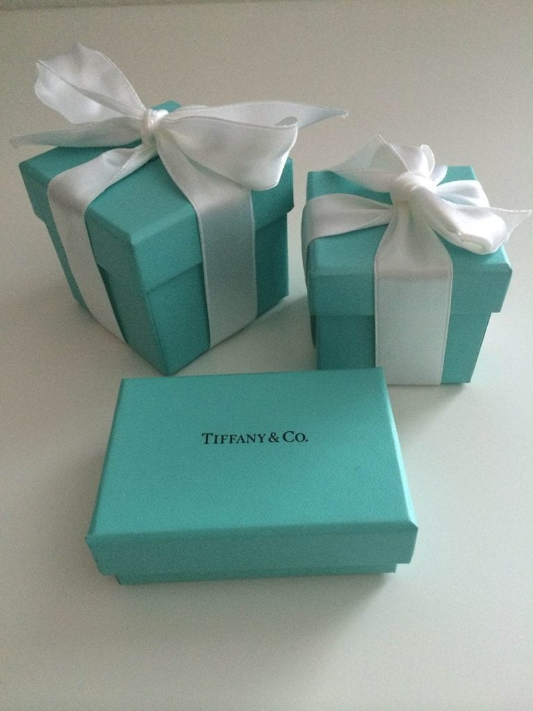 Tiffany's blue box - diamond cost