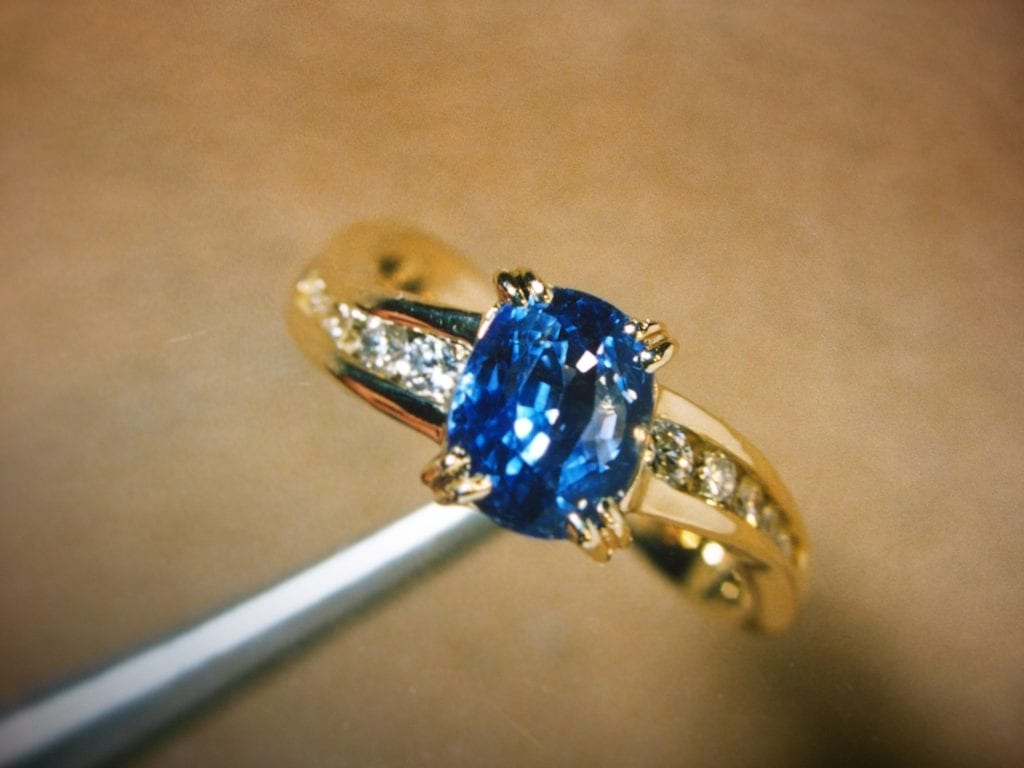blueberry sapphire - sapphire engagement ring stones