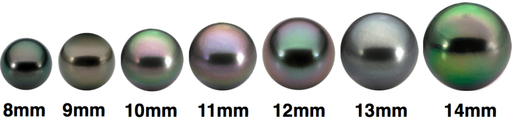 Tahitian pearl varieties - pearl engagement ring stones
