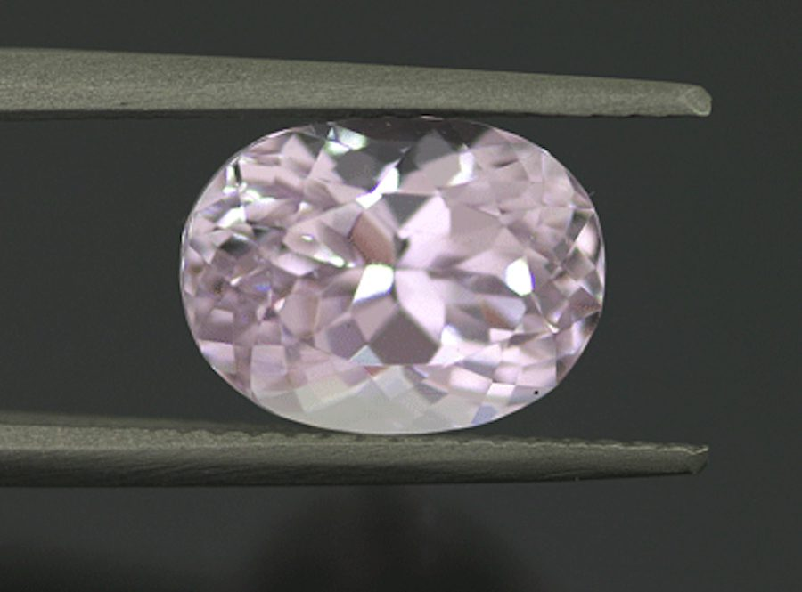 brilliant-cut kunzite- rare engagement ring stones