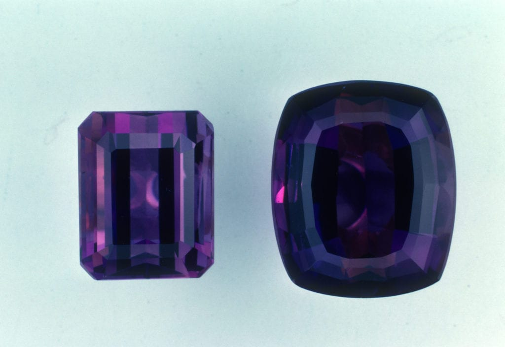synthetic amethysts