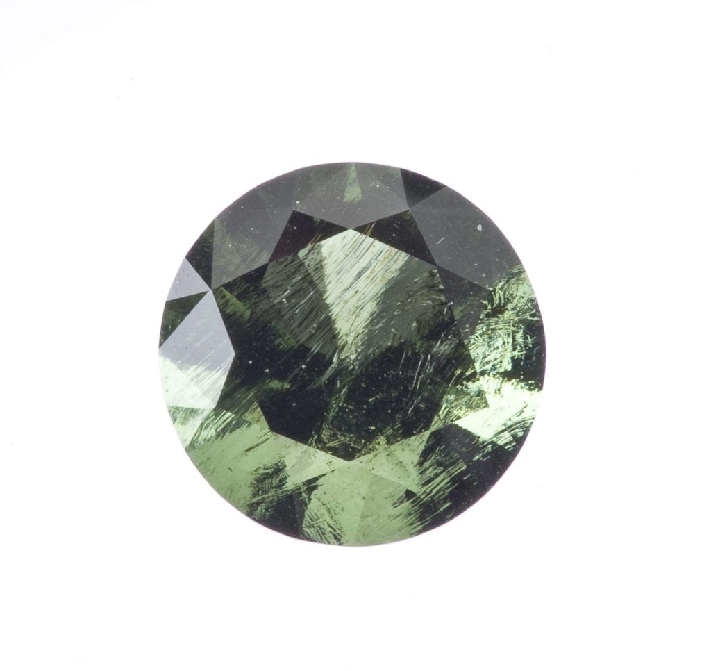 moldavite - rare engagement ring stones