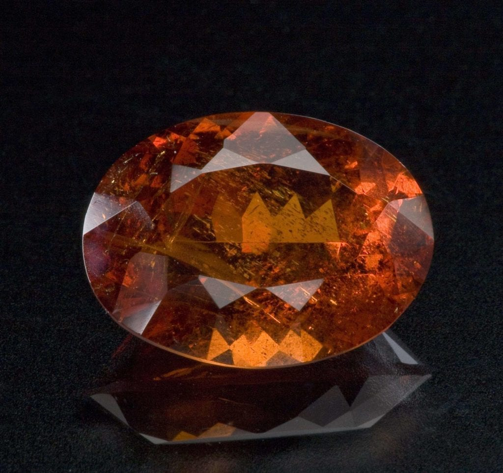 spessartine - rare engagement ring stones