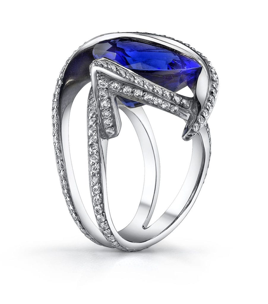 tanzanite - rare engagement ring stones