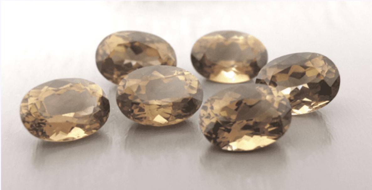 beige topazes - topaz engagement ring stones