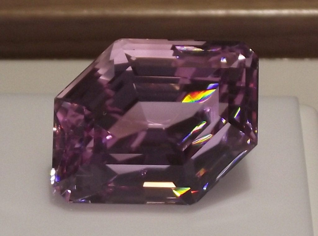 marquis-cut kunzite - rare engagement ring stones