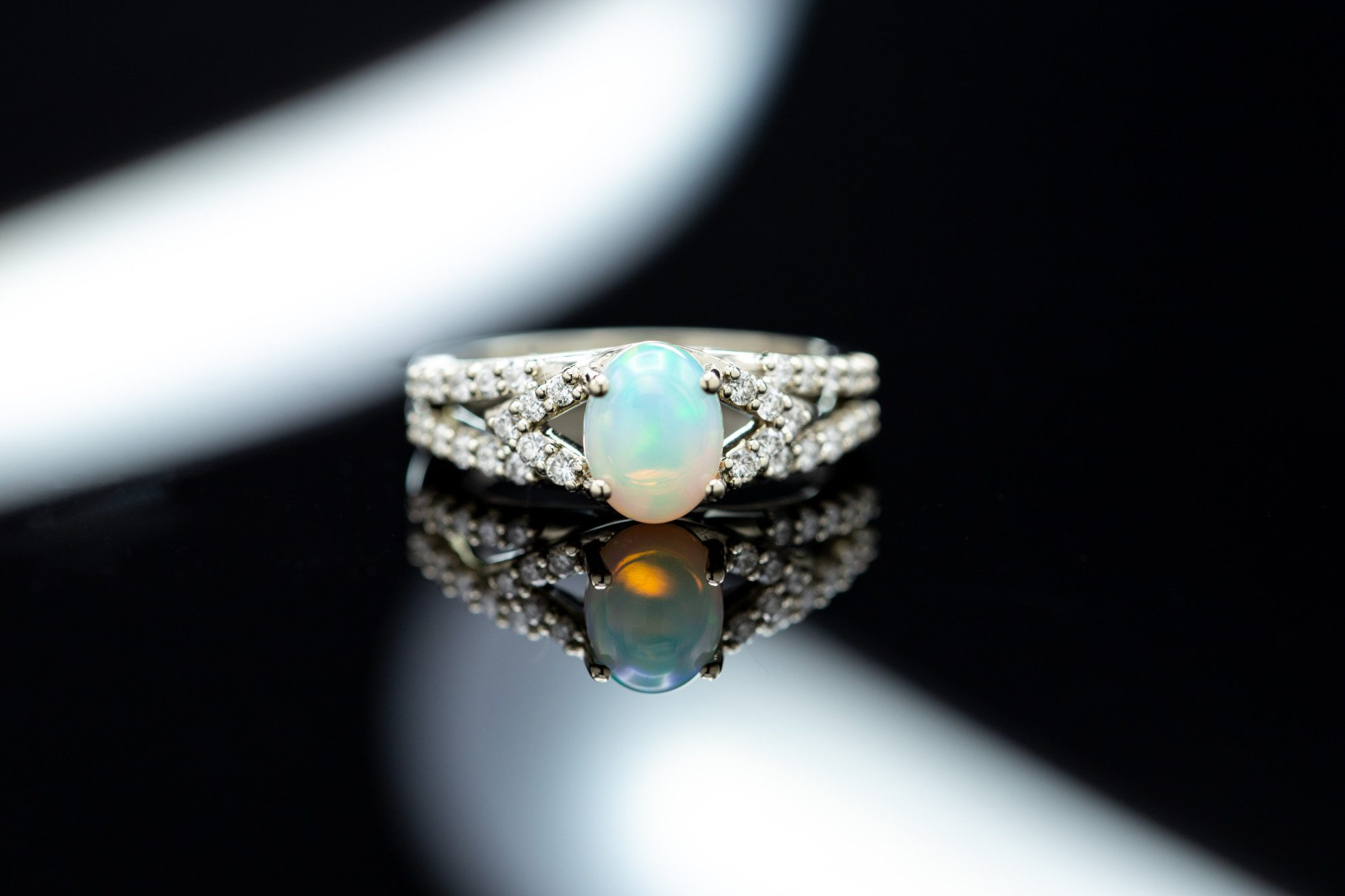 An Incredible Union Of Colors: Choosing Opal Engagement