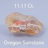 Radiant Step Mixed Emerald Cut Sunstone, Dust Devil Mine, Oregon, U.S.A., 3.07 cts