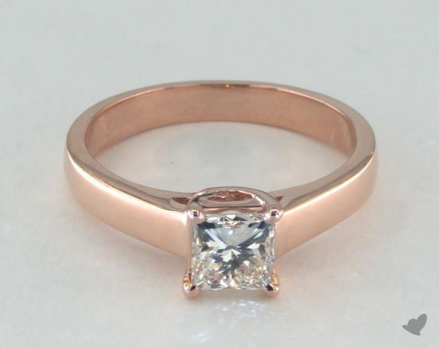princess-cut diamonds - K color