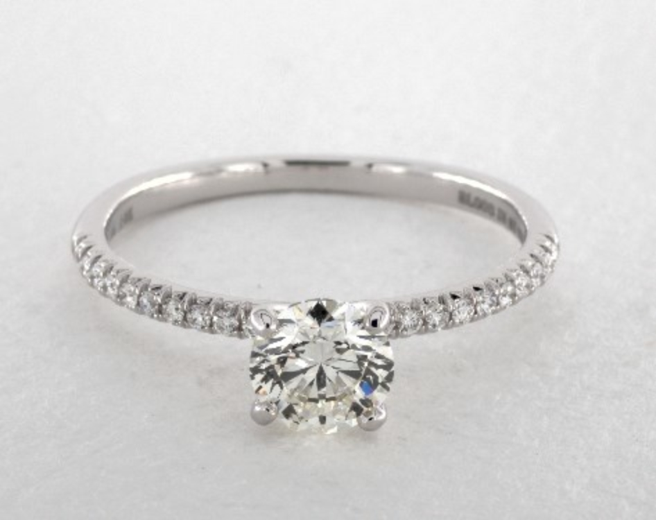 oval-cut diamond guide - 1ct round ring