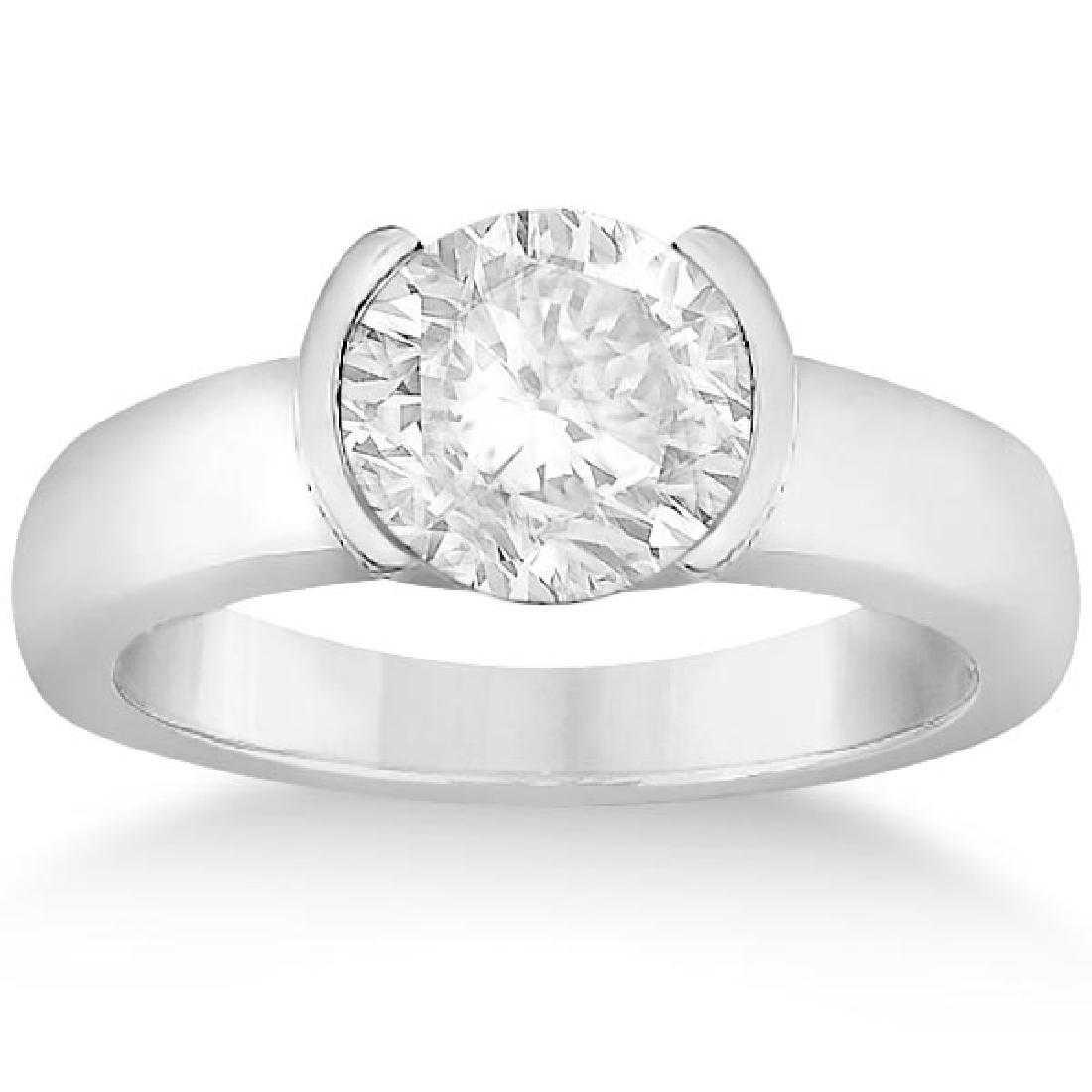 half-bezel setting - protective gem settings
