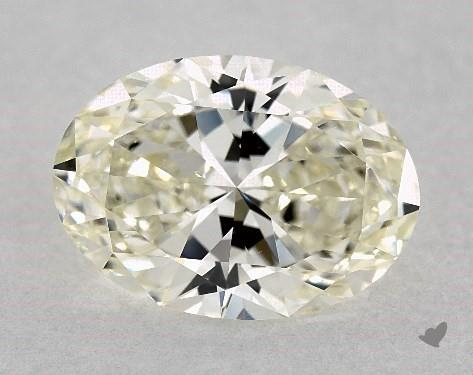 oval-cut diamond guide - K color diamond
