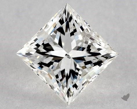 princess-cut diamonds - si1 clarity