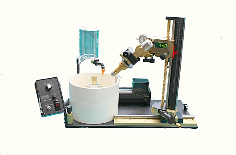 Polymetric Scintillator - best faceting machine