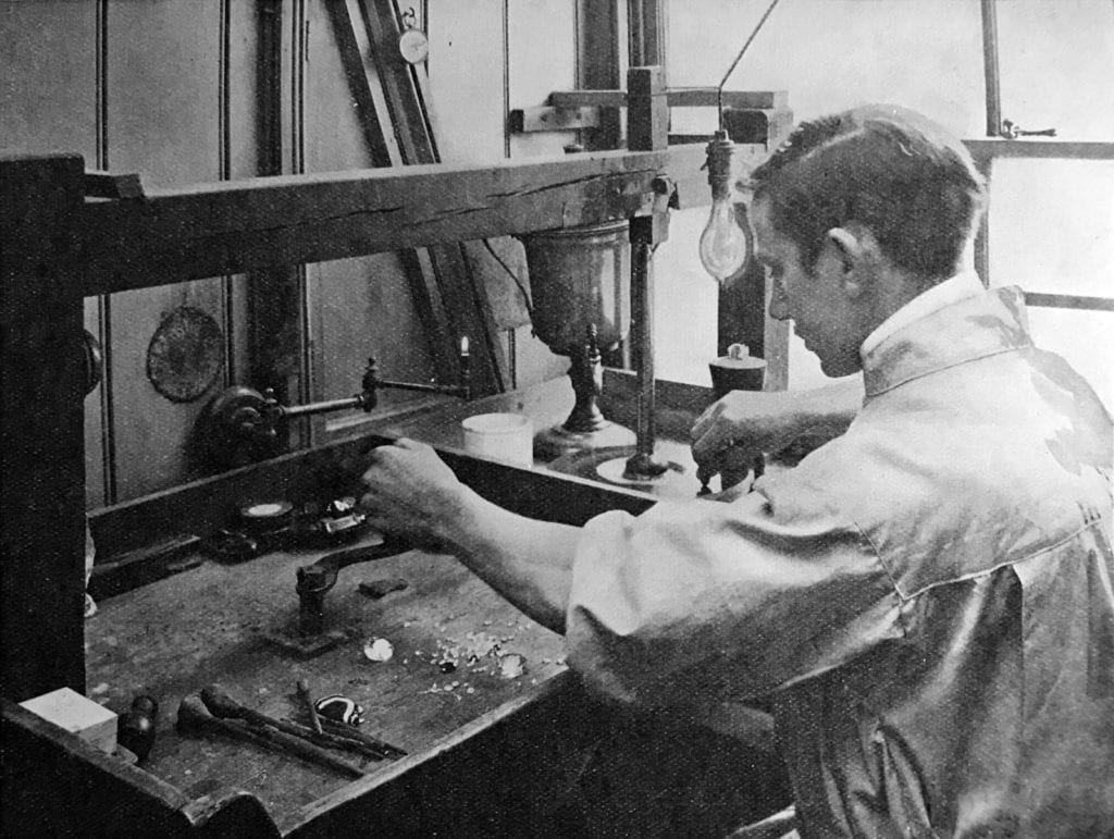 lapidary technology history - from Gem Cutters Craft, Leopold Claremont, London, 1906