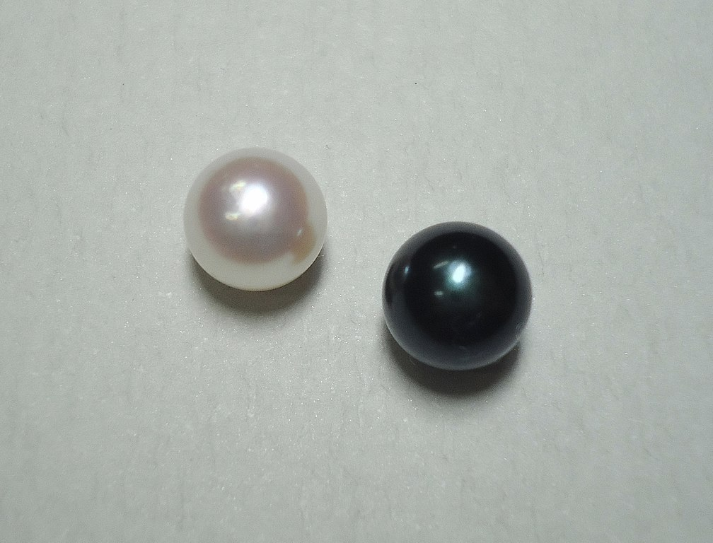 Akoya pearls - delicate engagement ring stones