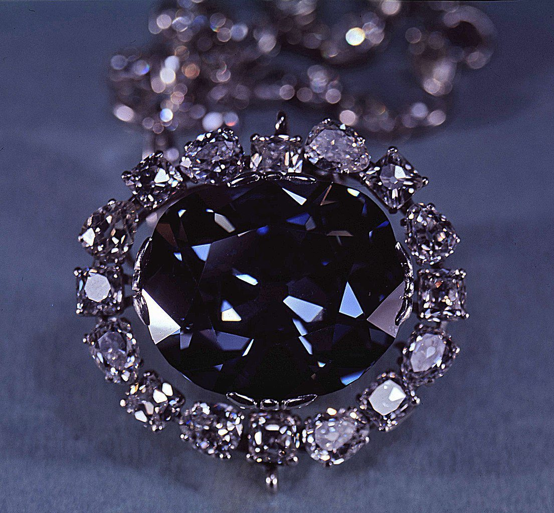 the Hope diamond - famous diamonds