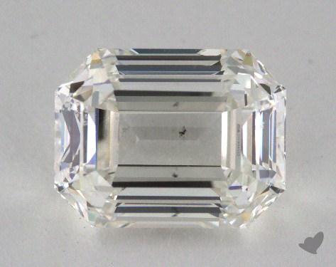 emerald & asscher-cut diamonds - asymmetrical emerald cut