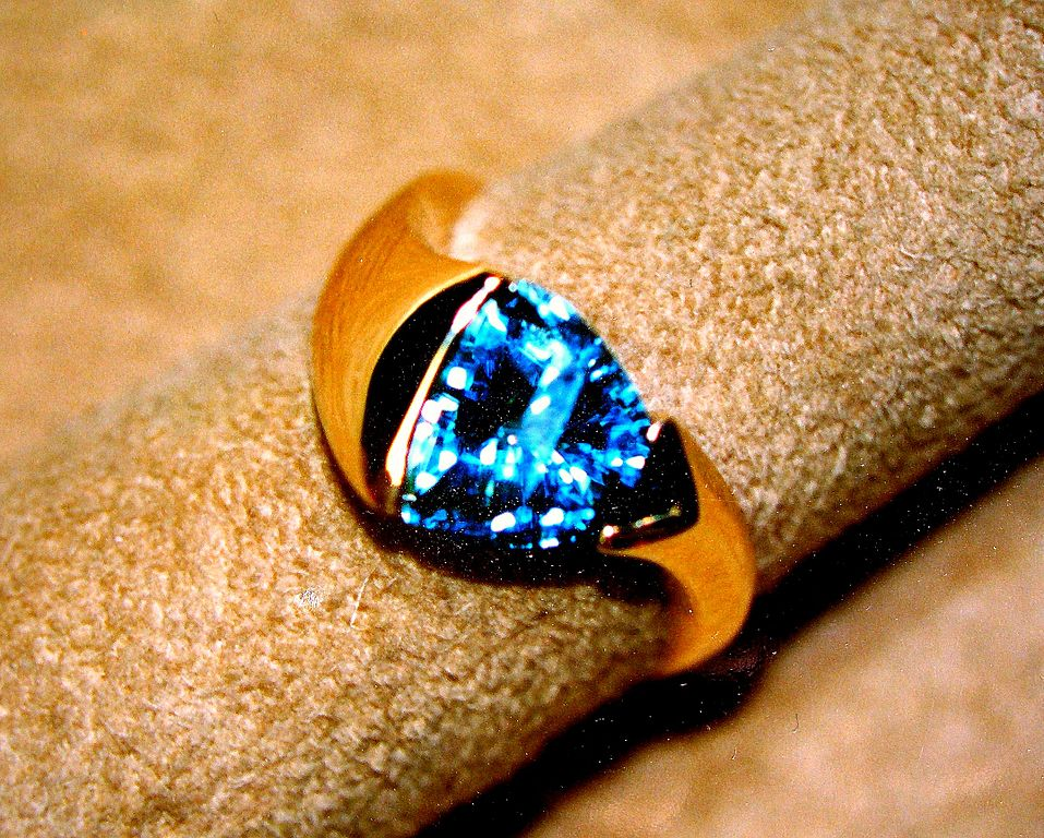 topaz ring - affordable engagement ring stones