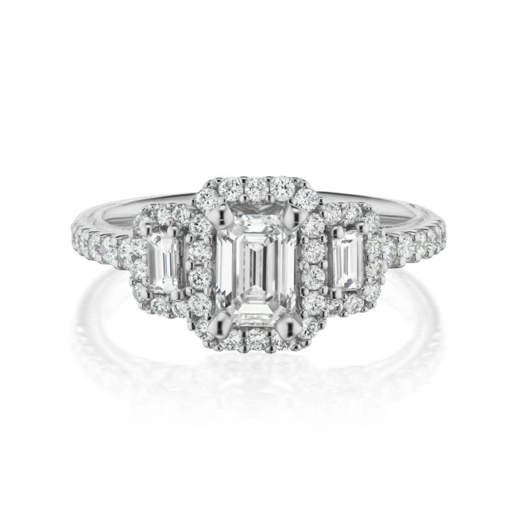 Eterna Natural Diamond Ring With Clarity