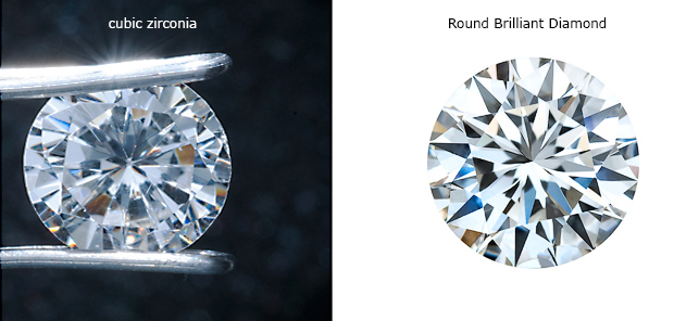 how to spot a fake diamond - cubic zirconia vs diamond
