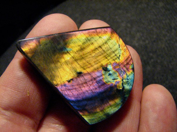 spectrolite - delicate engagement ring stones