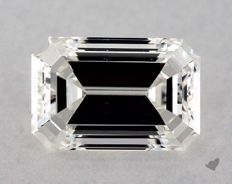 emerald & asscher-cut diamonds - poorly cut diamond