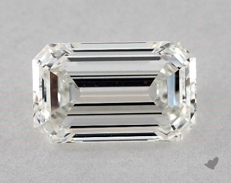emerald & asscher cut diamonds - L/W 1.63